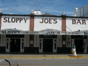 The tourist's Sloppy Joe's