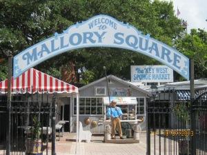 Entrance to Mallory Square