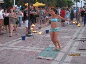 Fire ring toss