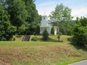 Kona Baptist church and Silver family cemetery