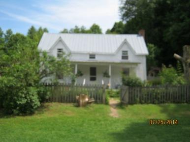 The cozy farmhouse