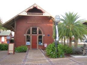 Old rail depot