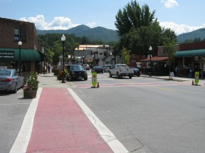 Downtown Bryson City